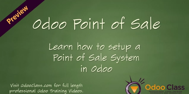 Odoo Point of Sale - Learn how to setup the POS application in Odoo